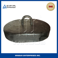 Professinal production cast iron sinker of marine mooring buoy