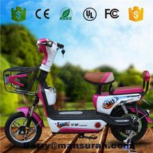 LEHE 700 Watt E Bike Foldable Rear Wheel Brushless Covered Electric Bicycle