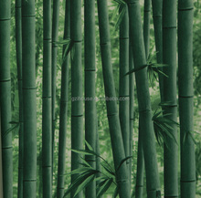 G2132 guangzhou ihouse cheap 3d green bamboo wallpaper designs
