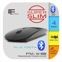 Good Performance High Quality Mini Wireless Mouse FTM-W18B