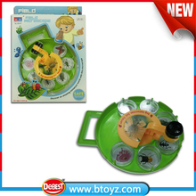 Plastic Kid Magnifying Turntable Insects Toys