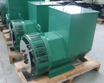 Factory Price Single Phase / Three Phase Brushless 80KW Alternator Generator For Sale