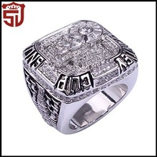 Yiwu Manufacturer World NFL Championship Custom Ring for Super Bowl