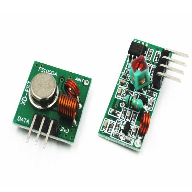 433/ 315Mhz RF Wireless Transmitter and Receiver Module Kit for Arduin