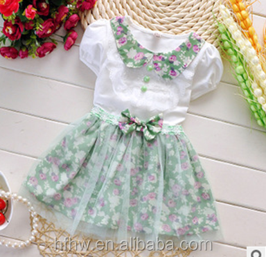 South Korean children's wear girl's summer wear the new lace veil sleeveless vest dress children dress