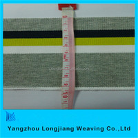 100% wool& acrylic flat back rib fabric /rib knit collars/cuffs