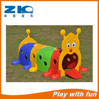 Kids Plastic Caterpillar Tunnel Toy,Kid Plastic Play Tunnel,Playground Plastic Tunnel Toys