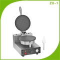 Single Plate Ice Cream Cone Machine With Wedge ZU-1