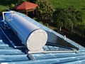 Thermo-siphon solar energy water heater