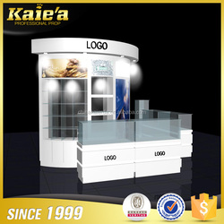 Easy-maintainable jewellery shop furniture/stand design/counter for jewelery kiosk