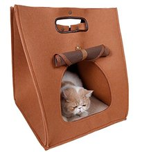 Fashion felt pet house and bed for cat and dog