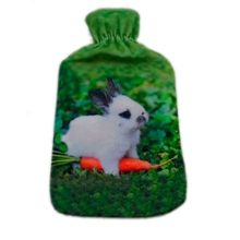 Plush animals hot water bottle cover Hot water bag cover