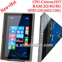 win8 11.6 dual core tablet laptop hybrid IPS 1366*768 2G/32GB Bluetooth WIFI HDMI 3G tablet PC