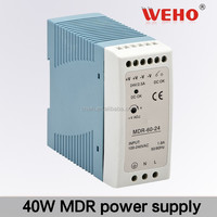 40w 12v din rail output power 12V ac/dc 3.3A mini power supply