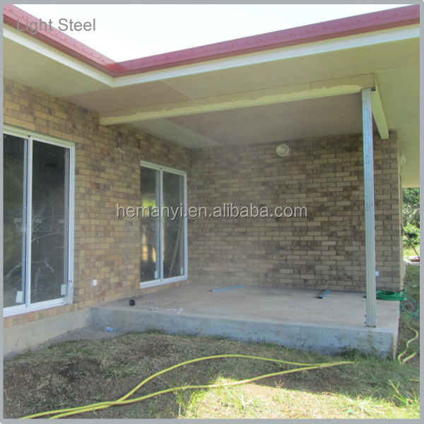 light gauge steel frame modular villa houses for sale