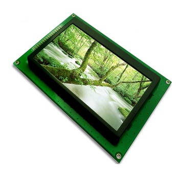 8.0 inch tft lcd display module screen 40pin soldering with capacitive touch panel I2C interface