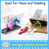 silicone phone stand, mini size silicone phone stand, colorful silicone phone stand