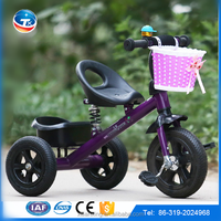 promotion 2015 new type hot model tricycle for boys and girls age 3-7 years old carbon steel frame EVA tire on discount