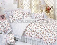 Madras heart adult dragon cotton bedding set 1 set