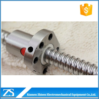 Cheap price chrome steel rolled ball screw and ballscrew nut