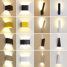 New Product Outdoor Wall Light LED light for use in home yard modern led wall projection iron outdoor wall
