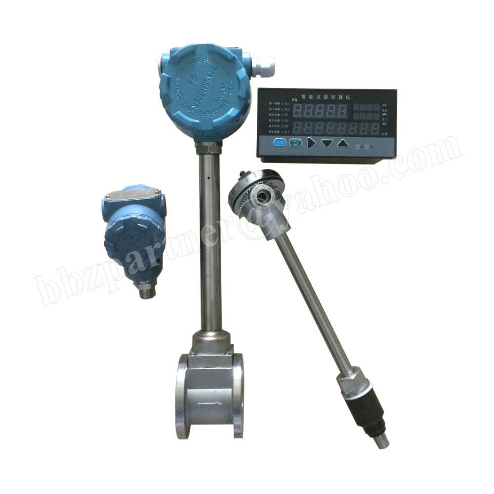 Low cost 4-20ma output digital hot water flow meter sensor