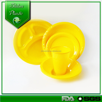 Wholesale cheap bulk food plate & ps plate, cheap hotel used salad /dessert plates/soup bowl