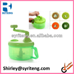 vegetable hand shredder plastic manual food chopper