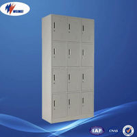 chinese export 12 doors steel shoes locker