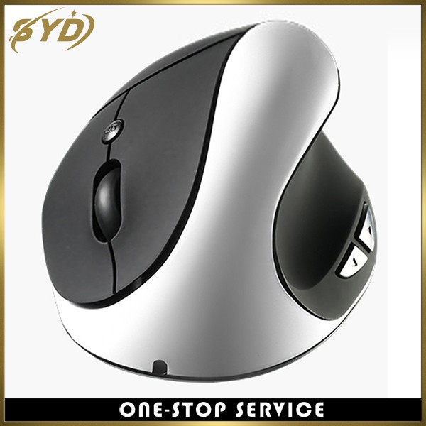 Factory direct sale Three generations rechargeable hand-held vertical mouse
