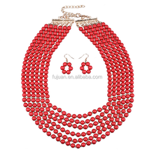Fashoinable Multilayers Resin Beads Hand Jewelry Set Trend 2016