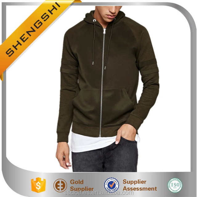 2017 new design spring jackets in MEN's coats with blank hoodies
