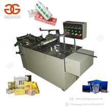 Herb Tea Gift Box Paper Box Playing Card Cellophane Wrapping Machine Health Care Product Packaging Machine