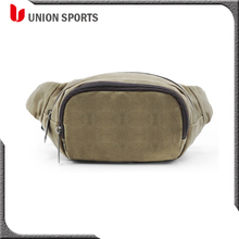 2017 Fashional Men's Leisure Canvas Waist Bag for Outdoor Hiking Sports