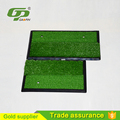 Factory price artificial rubber base golf mat