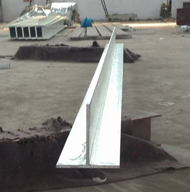 Trade assurance welded galvanized t section 0.9 - 12m length steel t bar t lintel