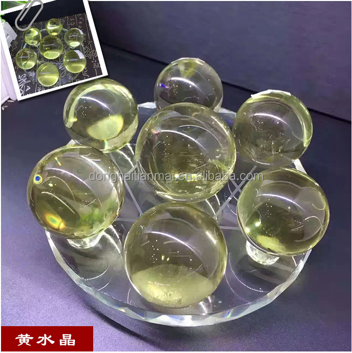 China Feng Shui crystals seven star for office decoration