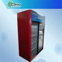 1000l 220v 3 door,cold energy drink,wine,soft drink vertical commercial refrigerator display beer cooler