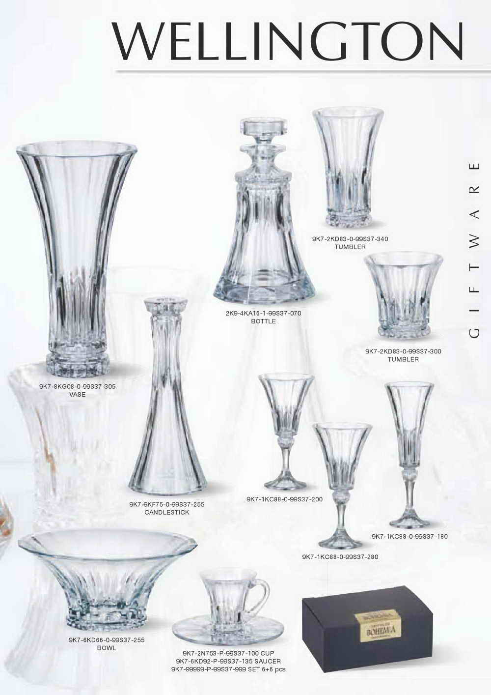 Exquisite style bohemia crystal