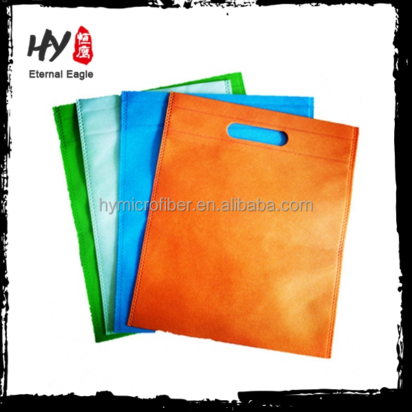 Manufacture needle puched nonwoven tote shopping bag
