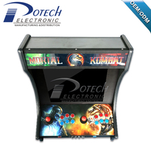 19 inch 2 player pandora box 645 in 1 mini coin operated arcade bartop game machine