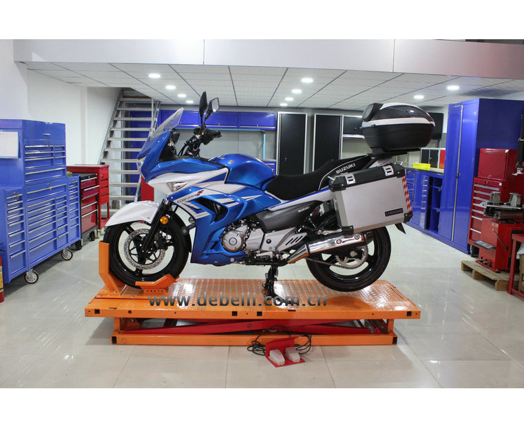 electric hydraulic Scissor Motorcycle Lift Jack For Motorcycle