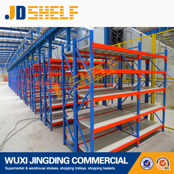 Heavy duty warehouse storage metal shelf rack