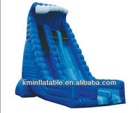 large inflatable water slide wave