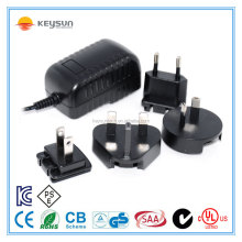 Output Current 0-4A with Newest PSE KC certification 12V 3A Plug in wireless Travel Adapter