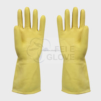 Cheap long white cotton gloves
