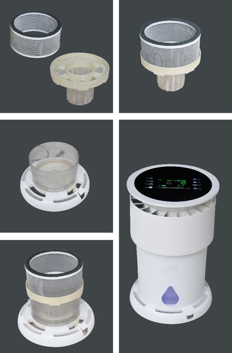 Remove controlled UV light sterilization air cleaner
