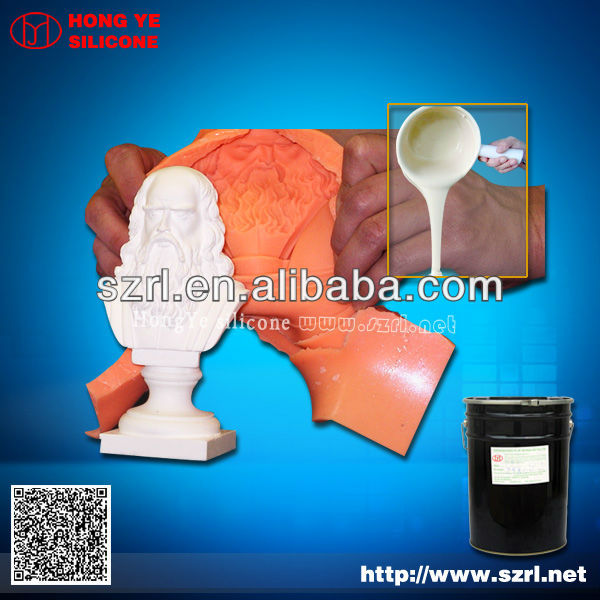 RTV liquid molding silicone rubber for GRC, plaster mold making