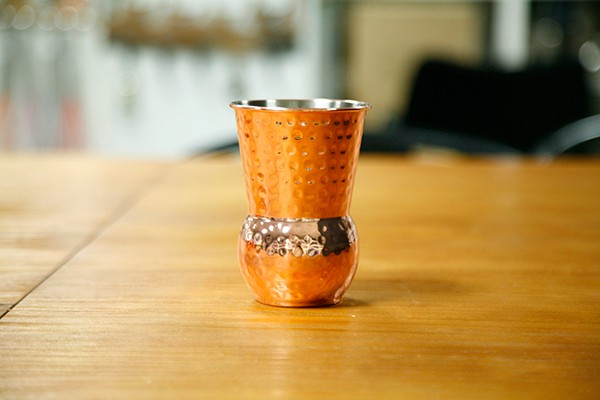 High quality brass food standard shot glasses