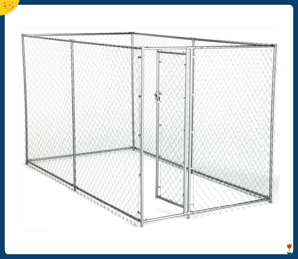 Wholesale 2.3 x 2.3m Pet Enclosure Dog Kennel Run Animal Fencing Fence USA ,Australia market